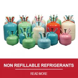 NON REFILLABLE REFRIGERANTS